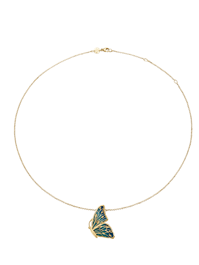 Kultainen perhoskaulakoru