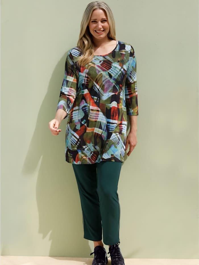 Longshirt in weich fließender Qualität