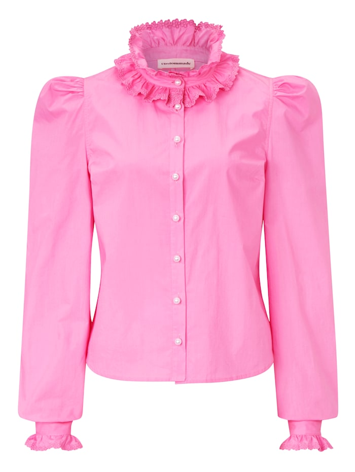 Custommade Bluse, Pink