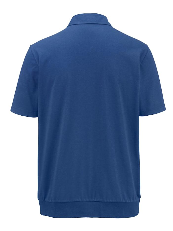 Poloskjorte med brystlommer