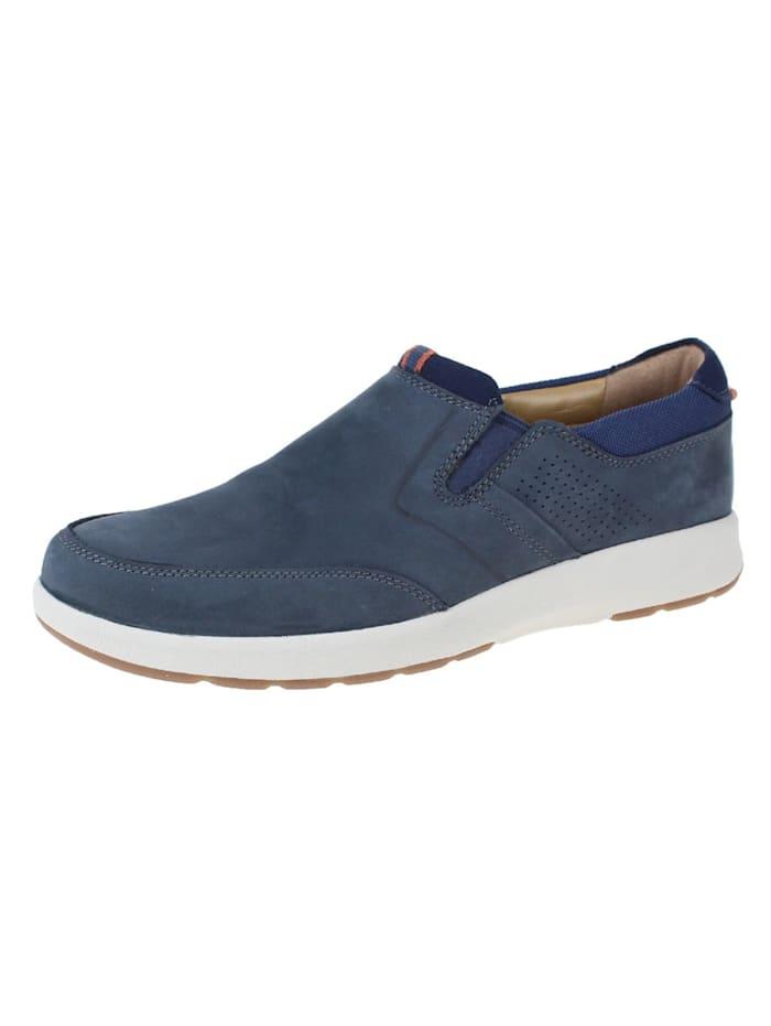 Clarks Slipper, blau