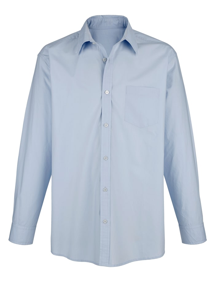 Roger Kent Hemd in bügelfreier Qualität, Hellblau
