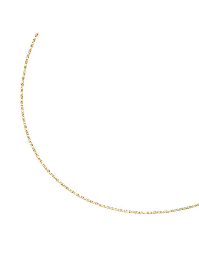 Luigi Merano Kette massiv, gedrehte Optik, Gold 375, Gold