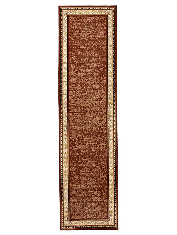 Webschatz Tkaný koberec Linus, Hnedá