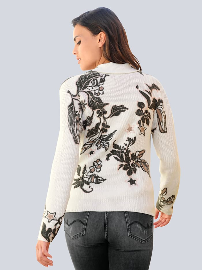 Pletené sako v exkluzívnom dizajne