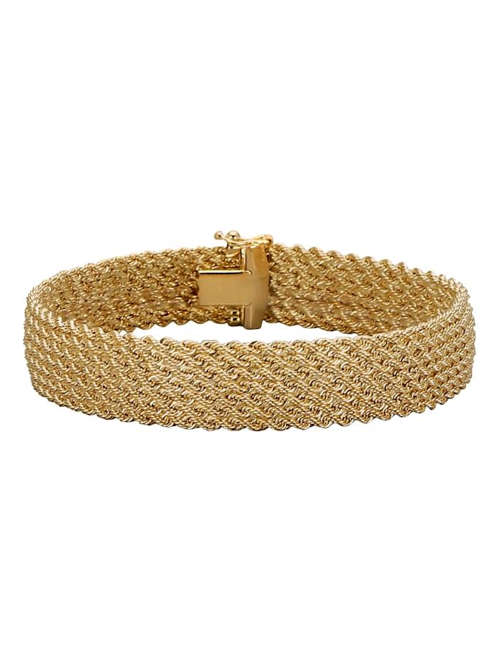 Diemer Gold Armband in Gelbgold, Gelb