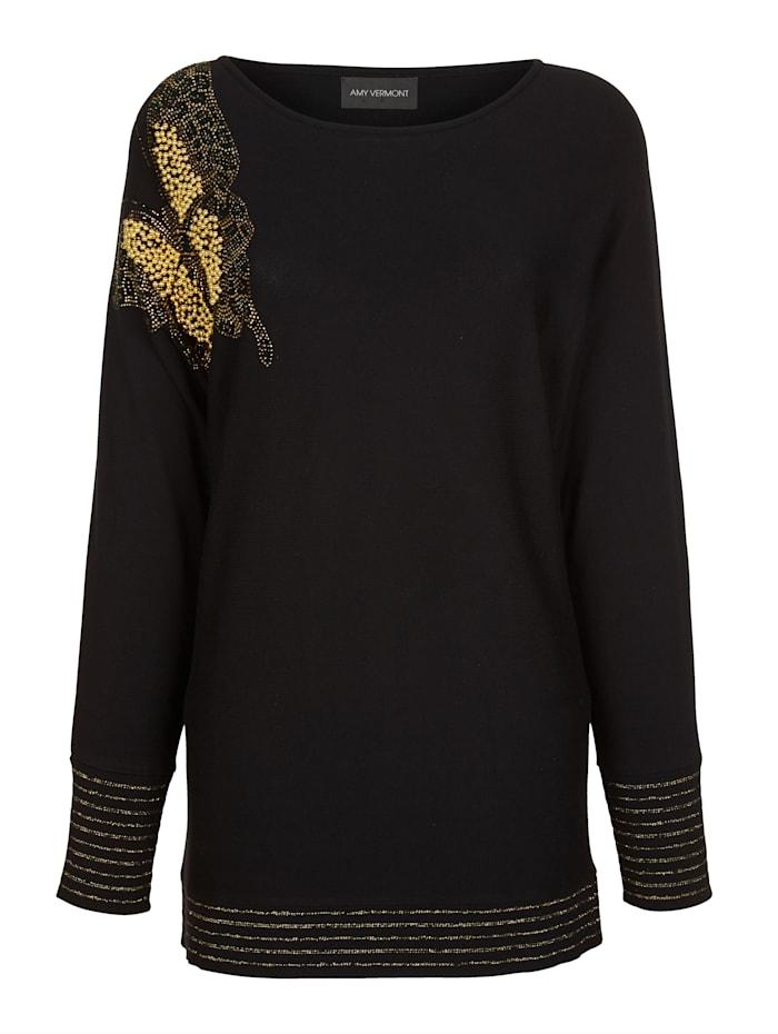 Pullover mit Schmetterlingsmotiv