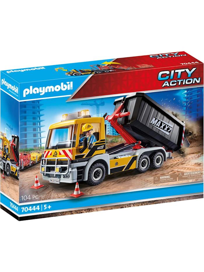 PLAYMOBIL Konstruktionsspielzeug LKW mit Wechselaufbau, Bunt