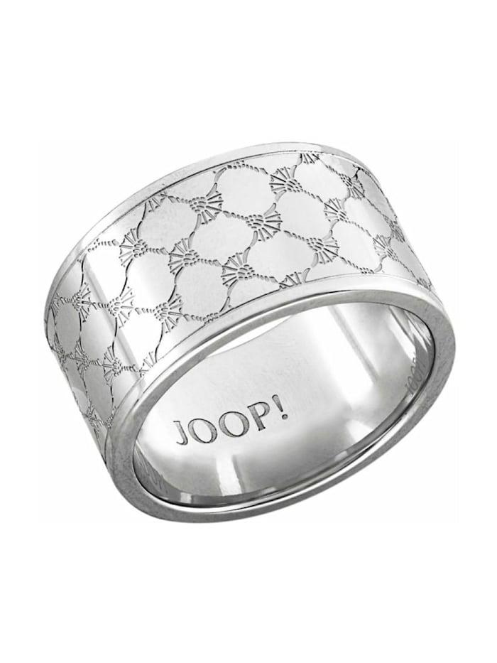 JOOP! Ring für Herren, Edelstahl, Silber