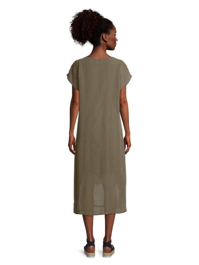 Casual-Kleid kurzarm