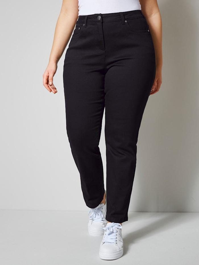 Janet & Joyce Jeans met corrigerend effect, Black