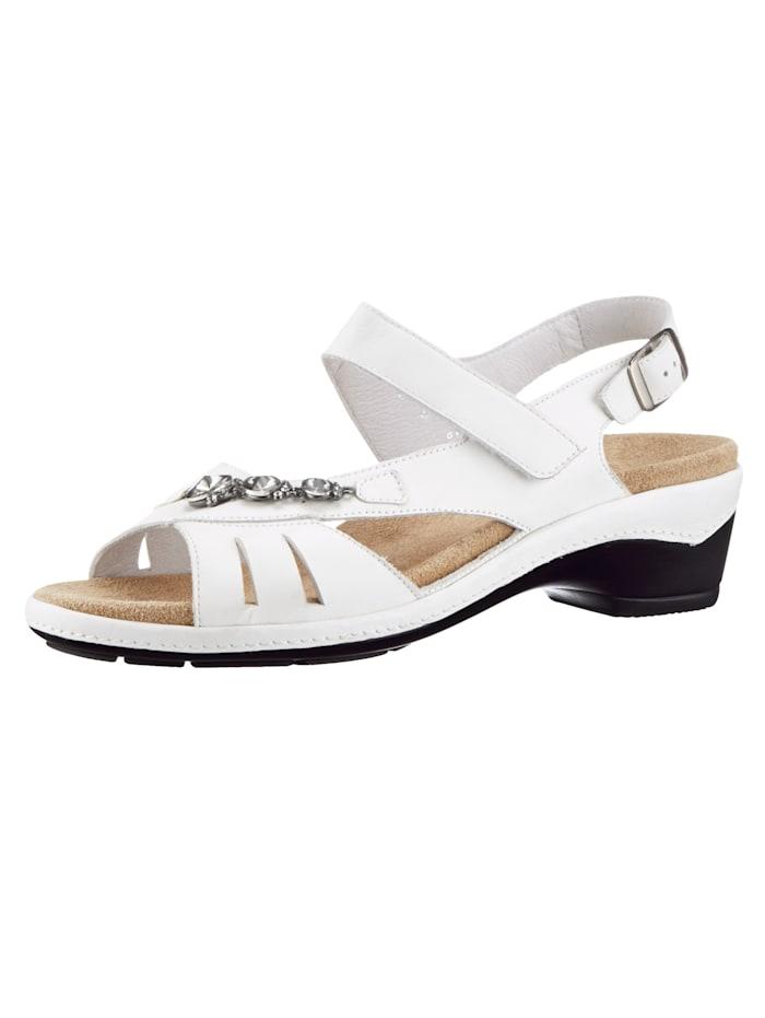 Semler Sandales, Blanc
