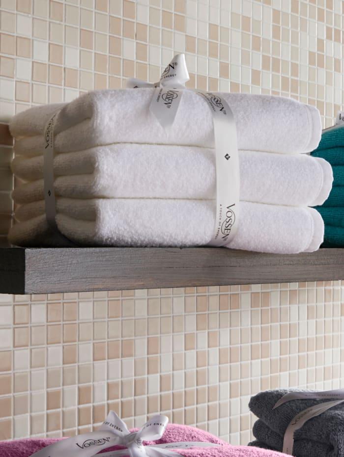 Vossen Frottierwaren 'Smart Towel', weiß