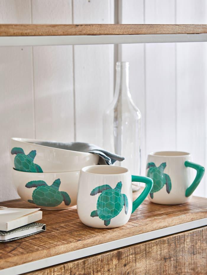 Tassen-Set, 2-tlg., Schildkröte
