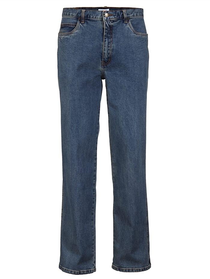 Roger Kent Jeans mit Elasthan, Blue stone