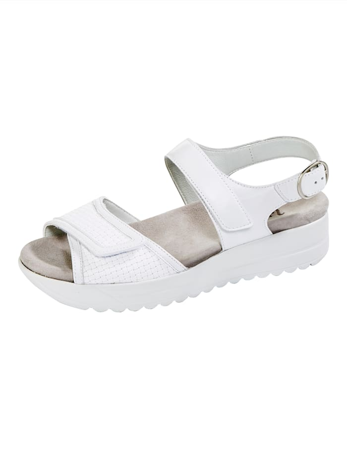 Vamos Sandale, Weiß