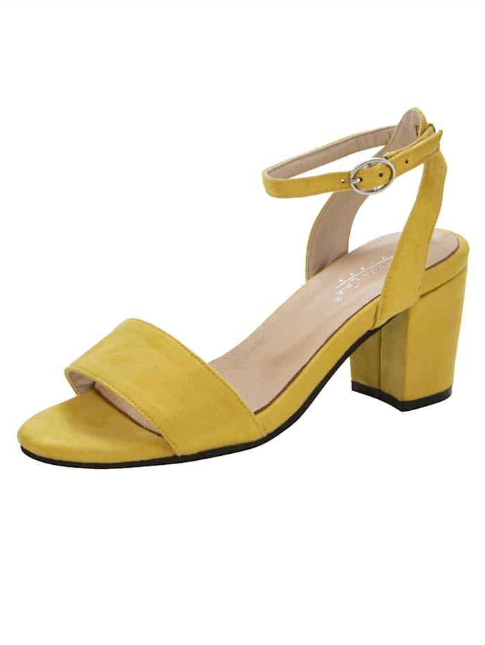Sandaletit, Keltainen