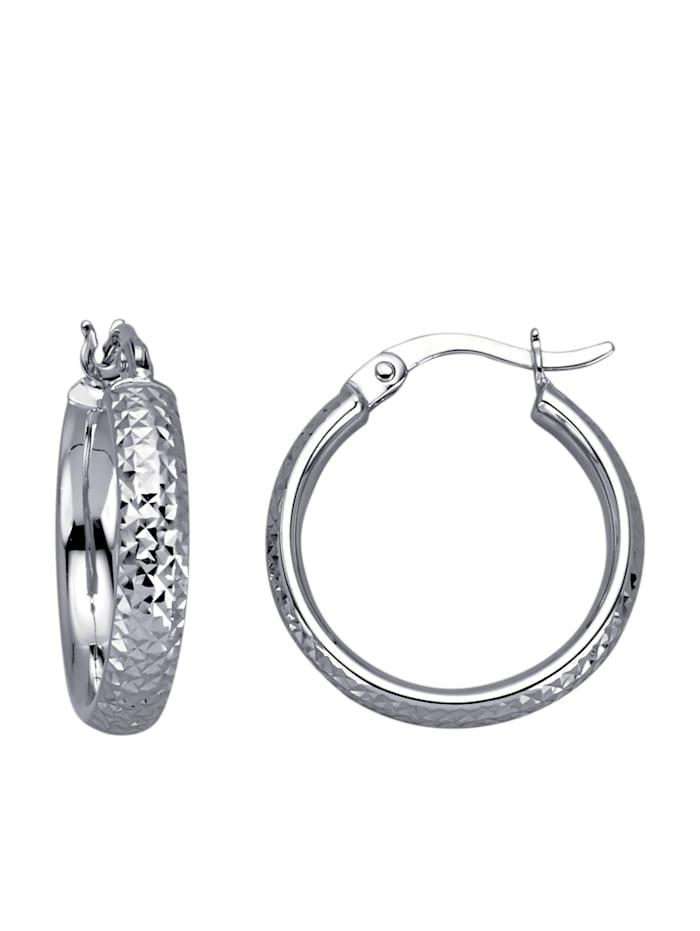 Diemer Gold Örhängen – ringar, Silverfärgad