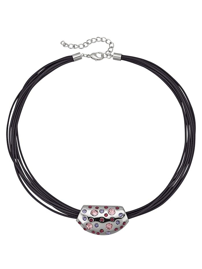 Collar with Rhinestones