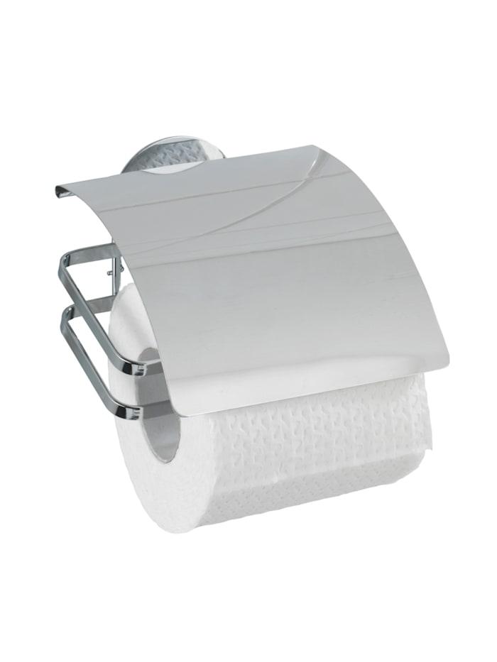 Wenko Turbo-Loc® Edelstahl Toilettenpapierhalter Cover, rostfrei, Befestigen ohne bohren, Glänzend