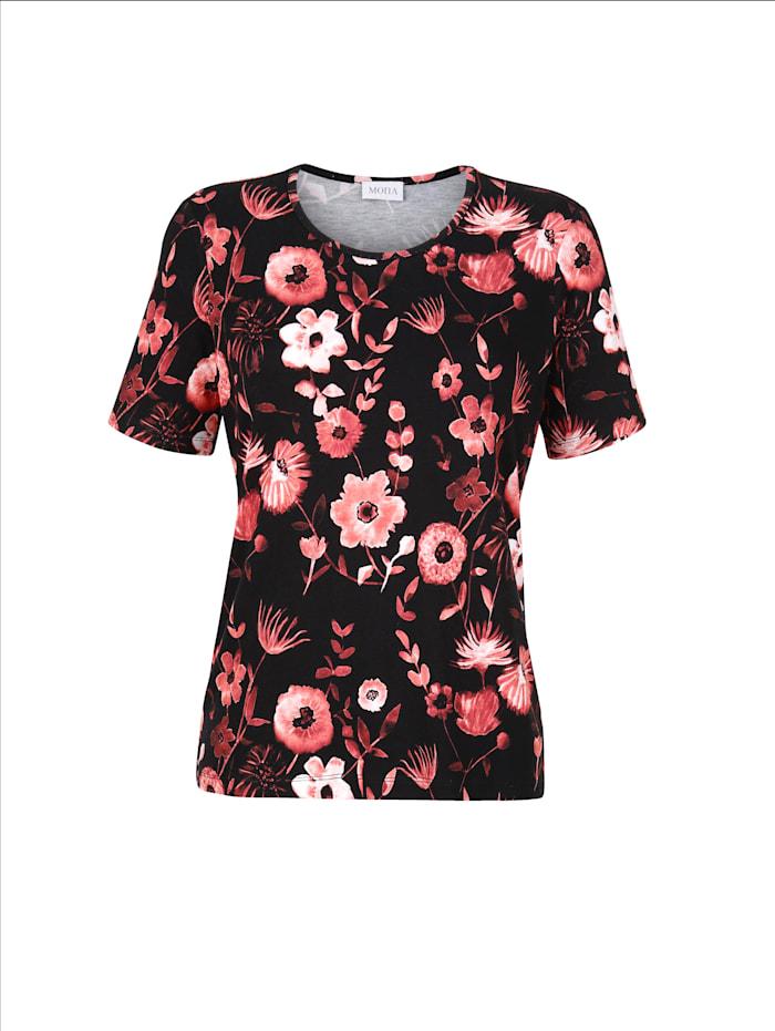 Shirt mit floralem Druckmotiv