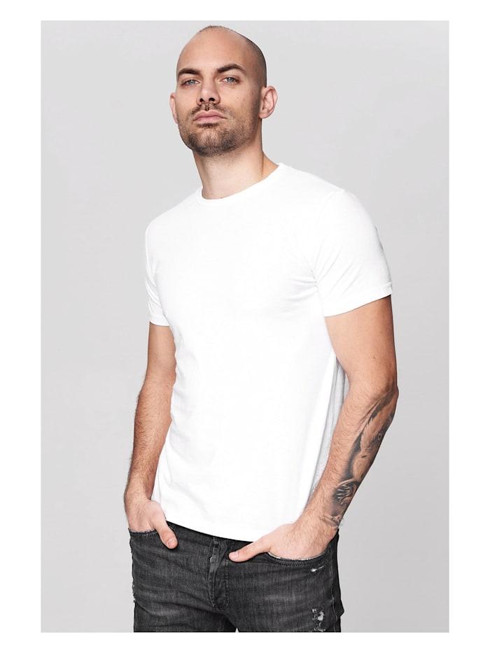 trueprodigy T-Shirt Seth in schlichtem Design, 2000-White