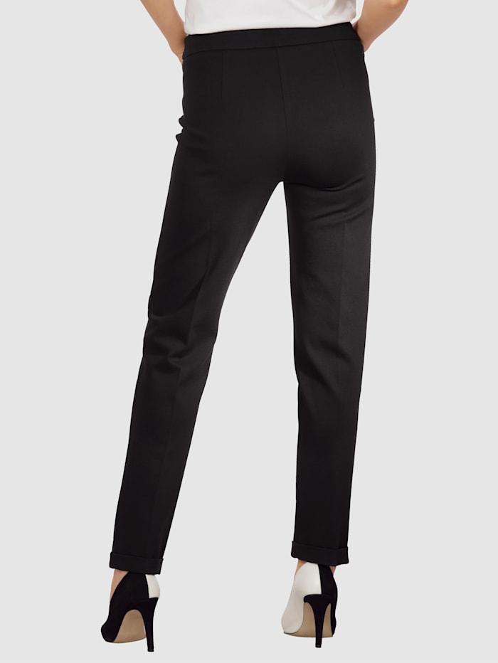 Pantalon en jersey à bas de jambe ourlé