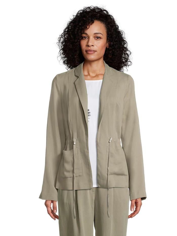 Betty Barclay Casual-Blazer langarm Material, khaki