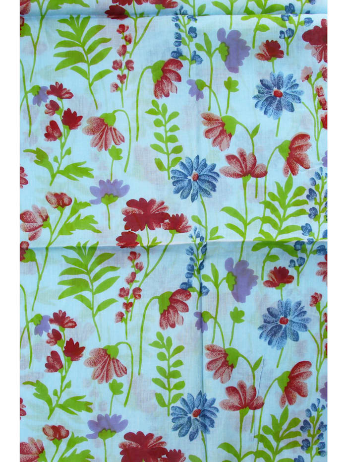 Schal Blumenwiese aus Baumwolle