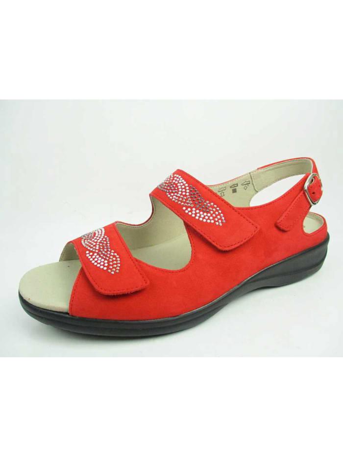 Solidus Sandale Sandale, rot