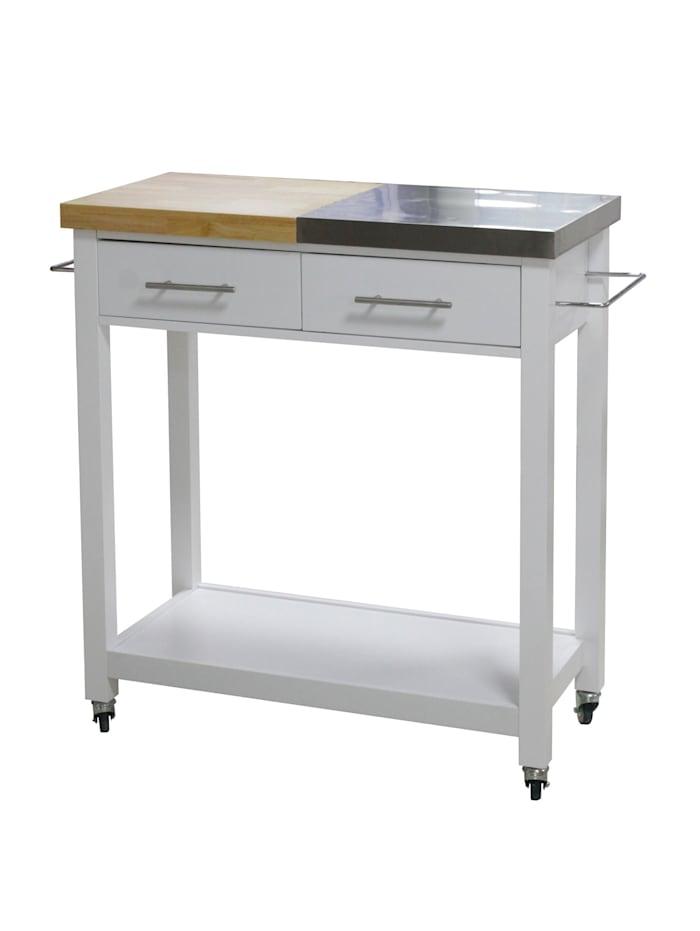 HTI-Line Küchenwagen L Blanca, Weiß