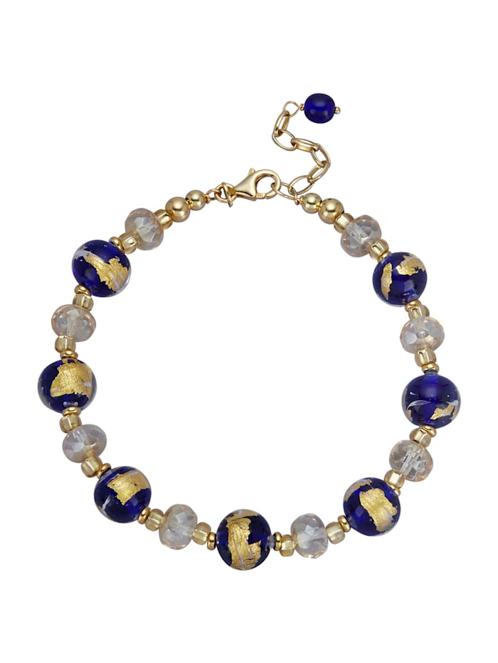 Muranoglas-Armband, Multicolor