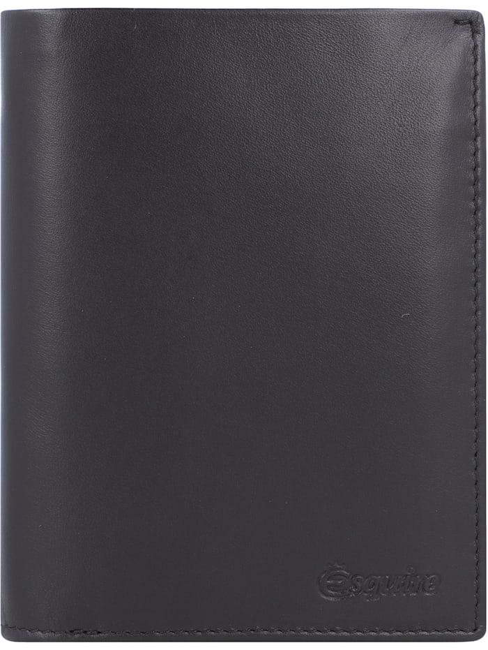 Esquire New Silk Geldbörse Leder 9 cm, braun