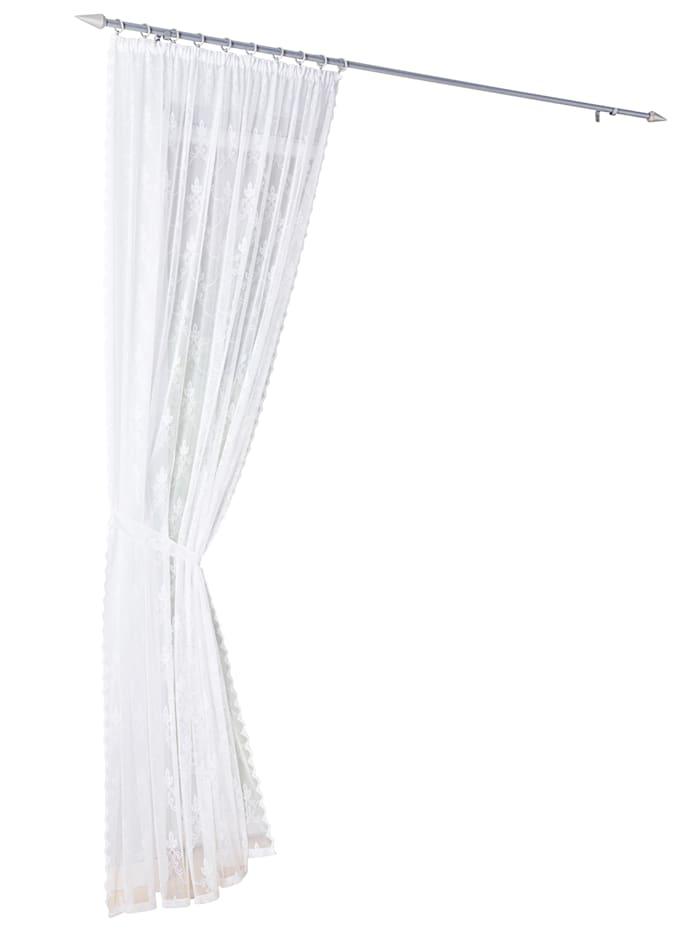 Webschatz Záclona Heidrun, biela