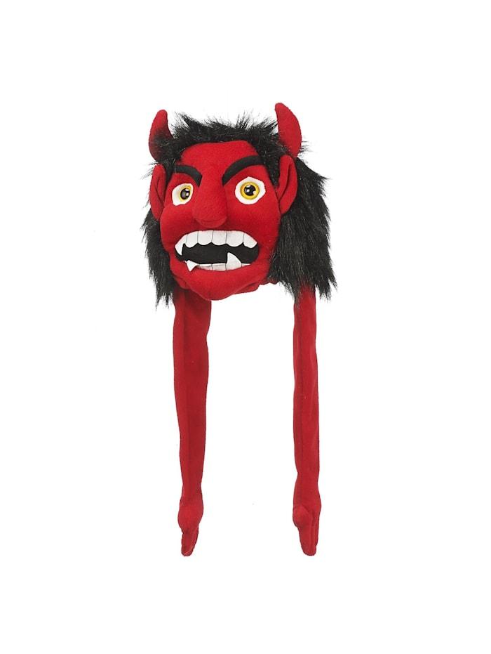 HTI-Living Mütze Teufel, Rot