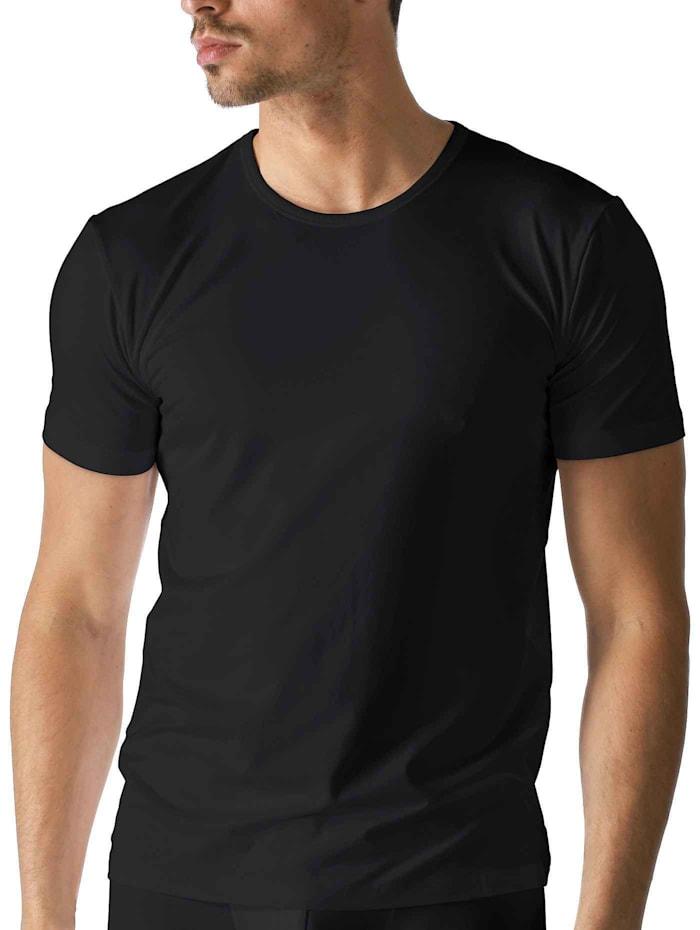 Kurzarm-Shirt, Rundhals