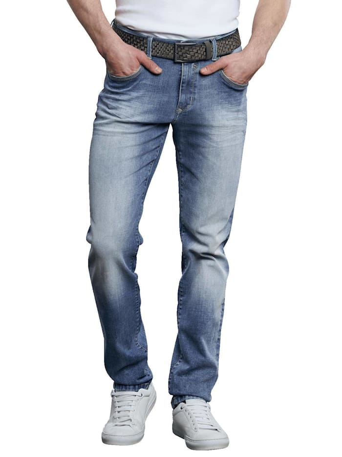 Engbers Jeans 5-Pocket Superstretch, Himmelblau
