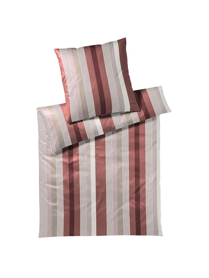 JOOP! Bettwäsche Stripes ruby, ruby