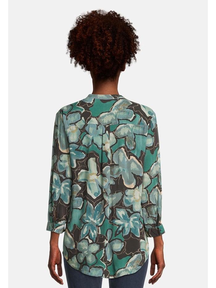 Blusenshirt mit Muster Druck