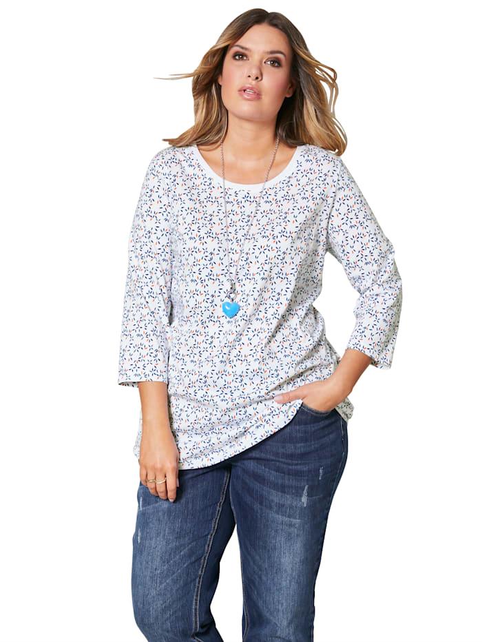 Shirt mit Minimal Druckmuster