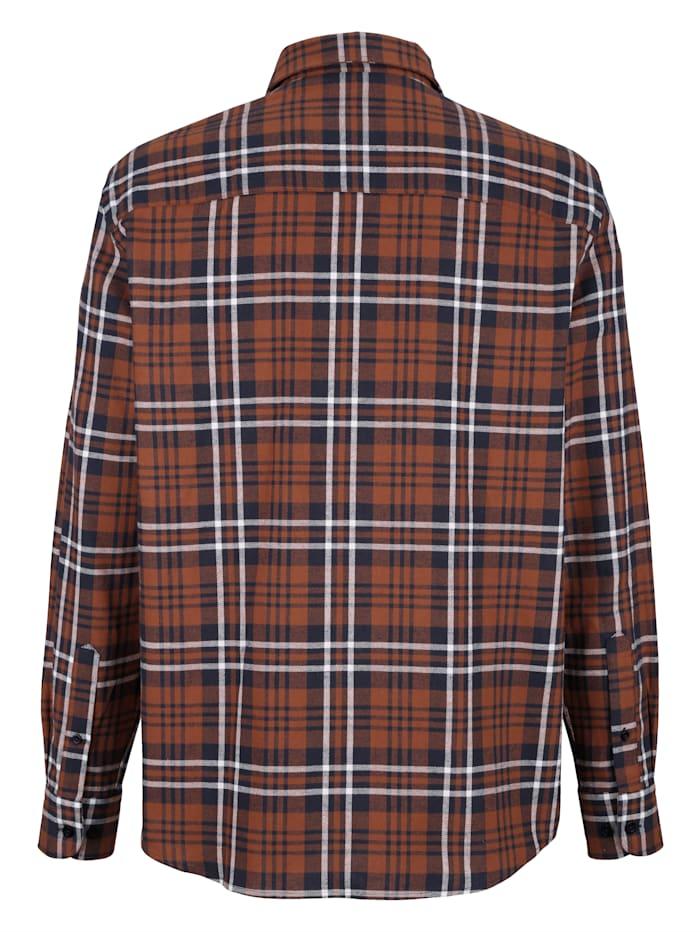 Hemd mit gargefärbtem Karomuster