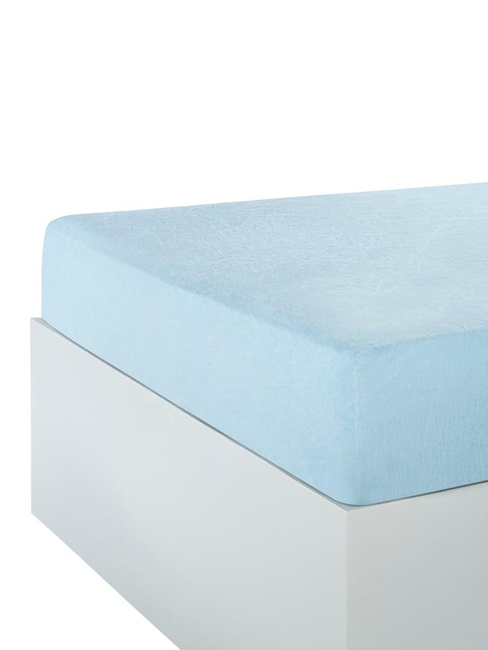 Webschatz Hoeslaken/laken, lichtblauw