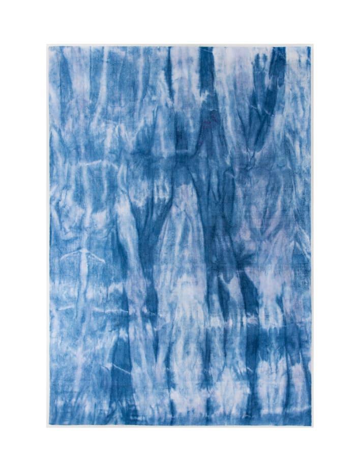 Tom Tailor Handwebteppich Xaver, Blau