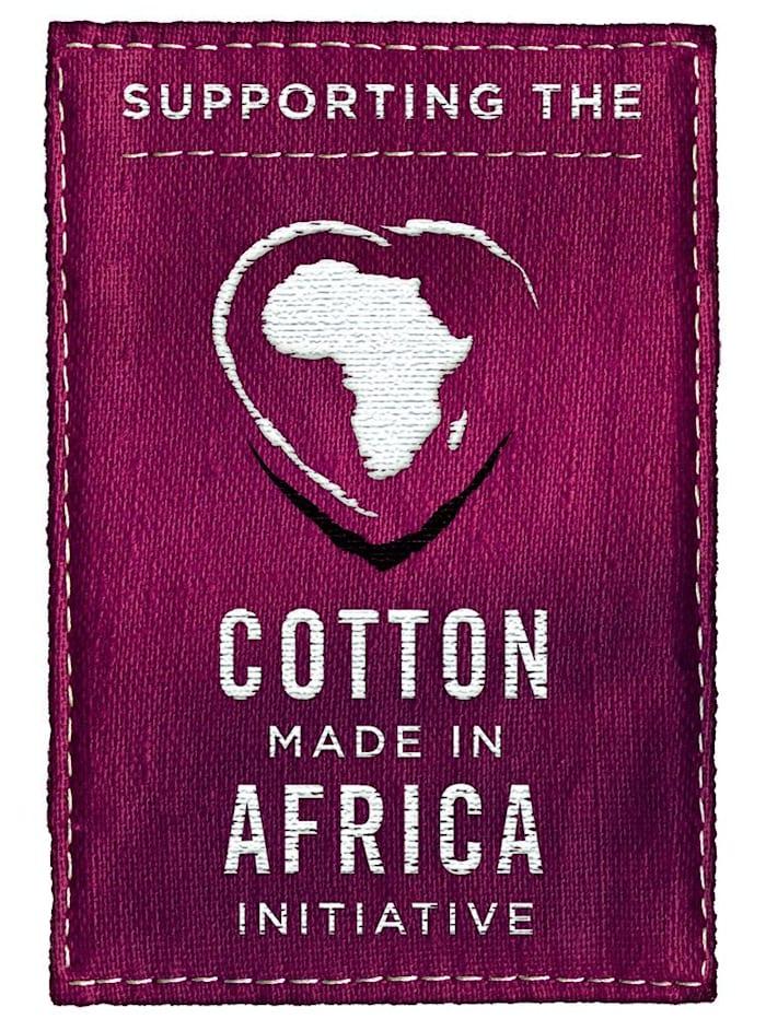 """Chemise de nuit en coton issu de l'initiative """"Cotton made in Africa"""""""
