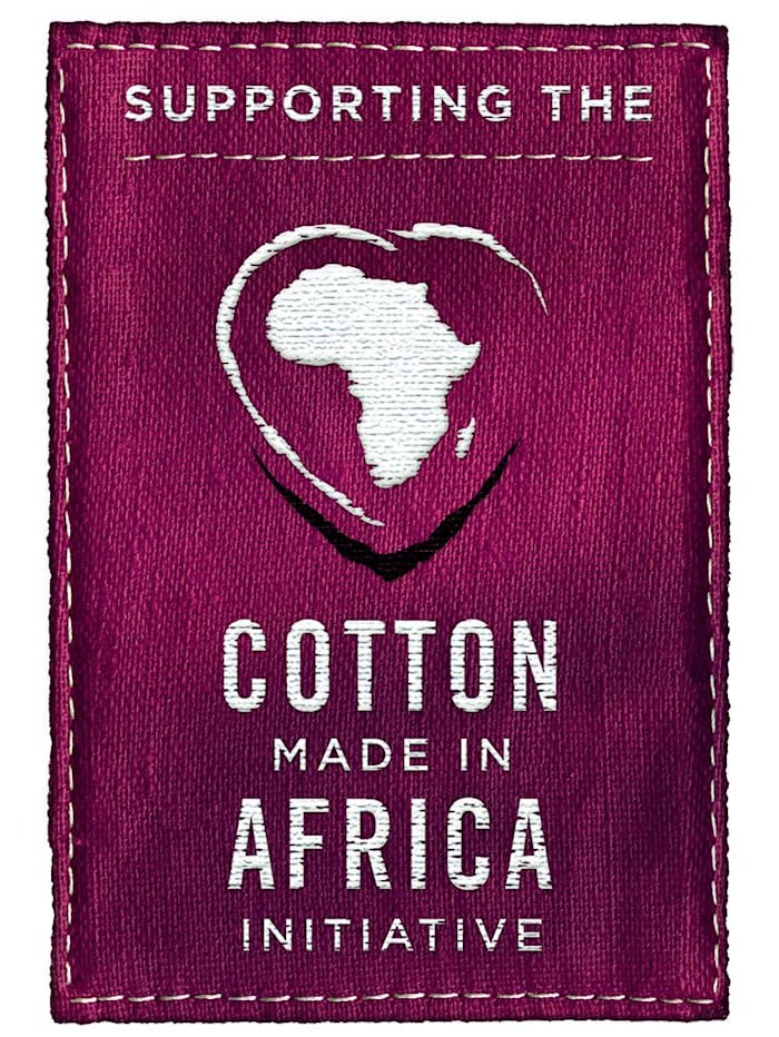 Nachthemd uit de 'Cotton made in Africa'-collectie