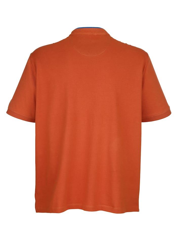 Tričko so zapínaním na gombíky