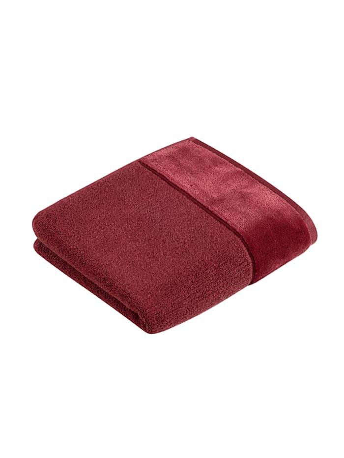 Vossen Handdoeken Pure, red rock