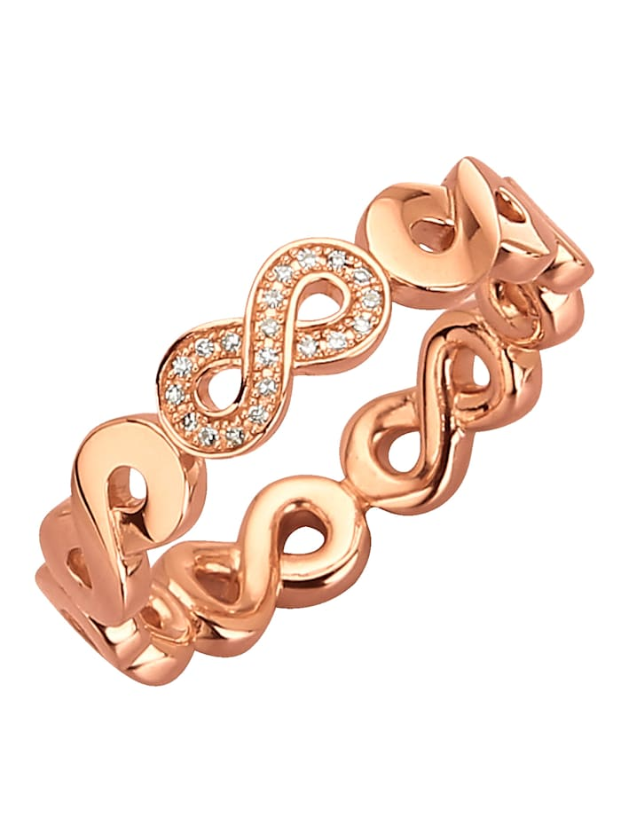 Thomas Sabo Bague à diamants Infinity, Rose