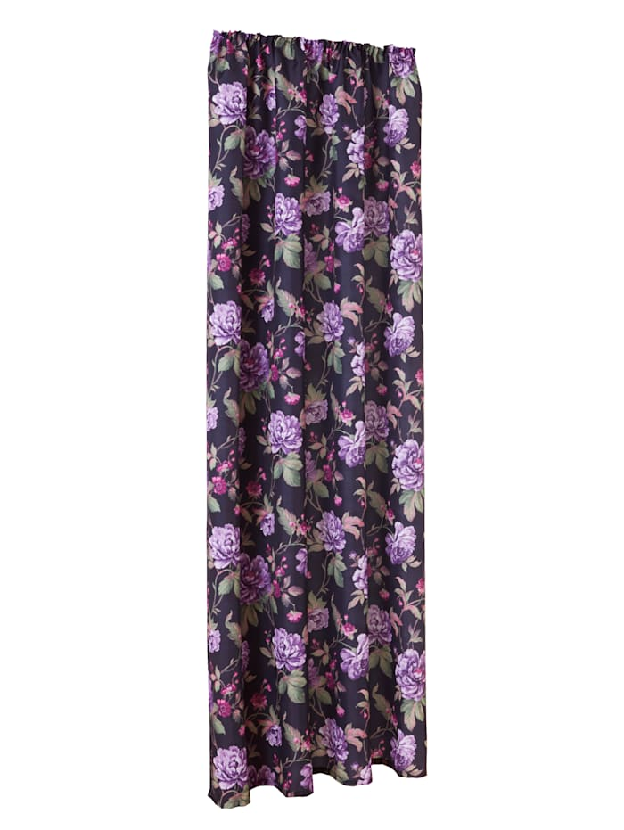 Webschatz Gardin – Salvia, flerfärgad