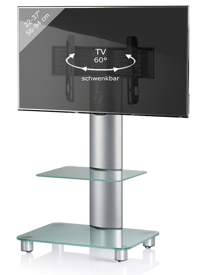 "VCM TV-Standfuß ""Bilano silber"""